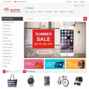 มาแล้ว Online Shopping Theme ใหม่!  สำหรับร้านค้าออนไลน์ ออกแบบมาเพื่อธุรกิจที่ต้องการเว็บไซต์สำหรับขายสินค้าโดยเฉพาะ