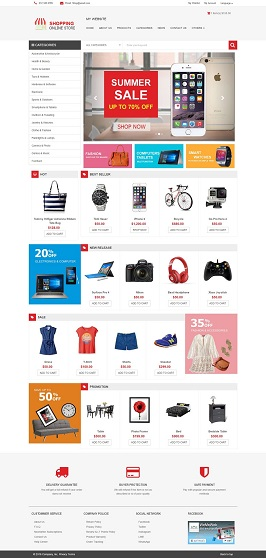 WeMeWeb Shopping Theme